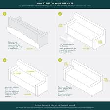 How To Make A Slipcover For A Sleeper Sofa by Amazon Com Lucia Collection Basic Strapless Slipcover Form Fit