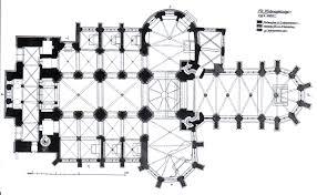 romanesque floor plan file köln st andreas grundriss 1916 jpg wikimedia commons