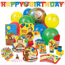 curious george cake topper curious george cake topper and birthday candle set walmart