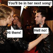 Adam Levine Meme - taylor swift memes mean taylor swift pictures rude funny gifs