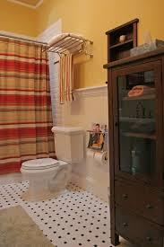 Wood Bathroom Towel Racks Hotel Towel Rack With Neutral Colors Bathroom Contemporary And