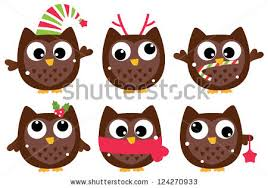 owl christmas christmas owl stock images royalty free images vectors