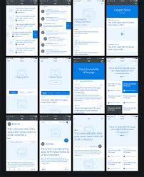 Articles Main Title Molo Mobile Wireframe Kit On Behance