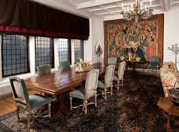 The Dining Room by The Dining Room At Rough Point Was Significantly Altered By The