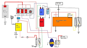 basic wiring schematic for a race car grassroots motorsports