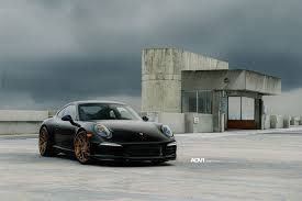 porsche supercar black black porsche 911 with adv7r mv 2 cs series wheels
