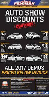 best car specials ad in lansing feldman chevrolet of lansing