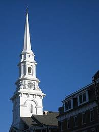 church steeples church portsmouth new hshire