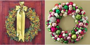 christmas wreaths to make 42 diy christmas wreaths how to make a wreath