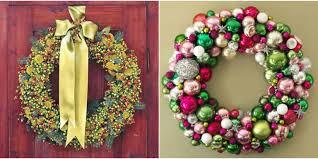 diy wreaths 42 diy christmas wreaths how to make a wreath