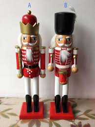 the nutcracker soldiers h38cm christmas home decoration woodcraft