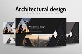 architecture powerpoint template by goo design bundles
