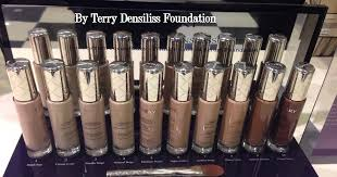 by terry terrybly densiliss wrinkle control serum foundation 8 5 beauty professor by terry densiliss foundation swatches of every