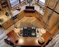 ilot de cuisine en bois cuisine bois avec ilot central top cuisine avec bois with cuisine