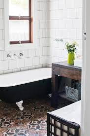 10 beyond stylish bathrooms with patterned encaustic tile feedpuzzle