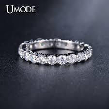 3mm diamond aliexpress buy umode new white gold color 3mm 0 1 carat