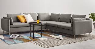 Corner Sofa In Living Room - vento 5 seater corner sofa manhattan grey made com