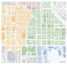 Baltimore City Map Street Park U0026 City Map Illustration