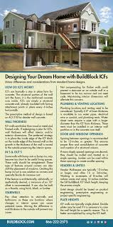 Insulated Concrete Forms Home Plans by Icf Home Design Buildblock Insulating Concrete Forms