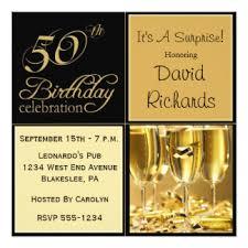 surprise 50th birthday invitations u0026 announcements zazzle