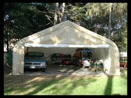 two car garage shelter 22 u0027x24 u0027x15 u0027 ga222412hgn
