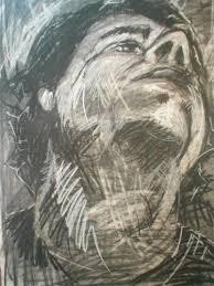 charcoal reduction self portrait wetcanvas