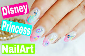 the easiest disney princess nail art disney jasmine nails