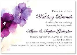 day after wedding brunch invitations impressive day after wedding brunch invitation 68 post wedding