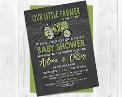 deere baby shower deere baby shower etsy