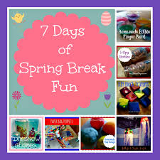 7 days of spring break fun crafts u0026 projects for the kids