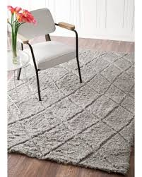 Plush Floor Rugs Fall Into This Deal On Handmade Moroccan Trellis Soft And Plush