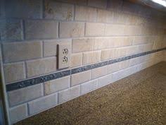 Tile Backsplash AND Glass AND Travertine Tile Installation  Uba - Travertine backsplash tile