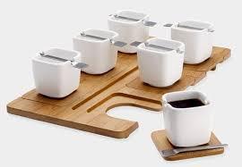 cool espresso cups espresso set with beautiful square cups