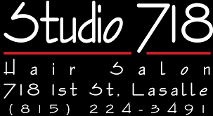 studio 718 downtown lasalle hair salon