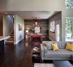 office accent wall ideas home office contemporary with modern desk