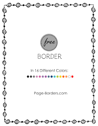 free border doodle customize online and then download or print