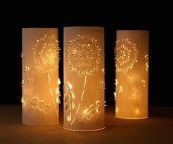 How To Make Paper Light Lanterns - make a set of diy paper dandelion lanterns make