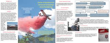 center of excellence for advanced technology aerial firefighting