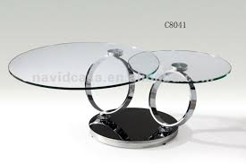 circular glass coffee table incredible round glass coffee tables c8041 modern round glass coffee