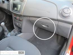 renault symbol 2014 obd soket yerleri araç takip cihazı