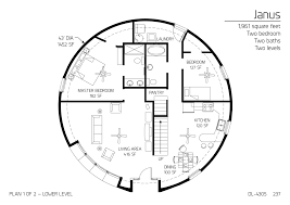 floor plan dl 4305 monolithic dome institute make it 50ft dia
