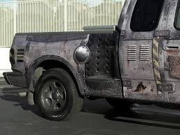 Ford Raptor Zombie Apocalypse - apocalypse wrap f150 truck wrap designed and installed by john