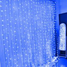 Curtain Fairy Lights by 3m 3m Led Window Lights Outdoor Curtain String Fairy Lamp
