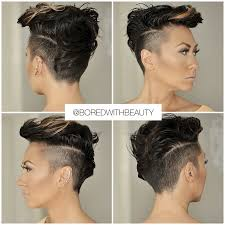 how to style an undercut female the undercut is an excellent choice for curly hair undercut for