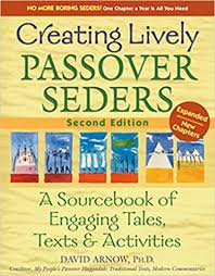 passover seder book creating lively passover seders 2nd edition a