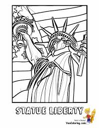 july 4th 07 statue liberty coloring pages book for kids boys gif