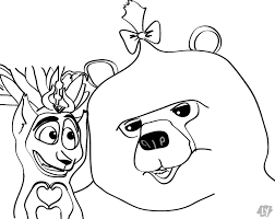 madagascar 3 coloring book madagascar gloria melman coloring