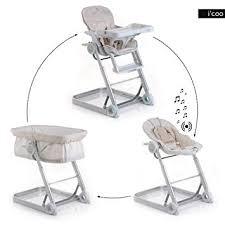 chaise haute transat b b magnifique chaise transat b haute bebe evolutive 2en1 balancelle