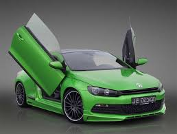 volkswagen scirocco r modified je design cranks the vw scirocco 2 0 tdi up to 205hp