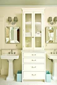 Bathroom Storage Cabinets Home Depot - pedestal sink storage cabinet u2013 robys co